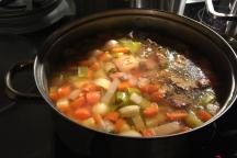 Suppe nach Großmutters Rezept